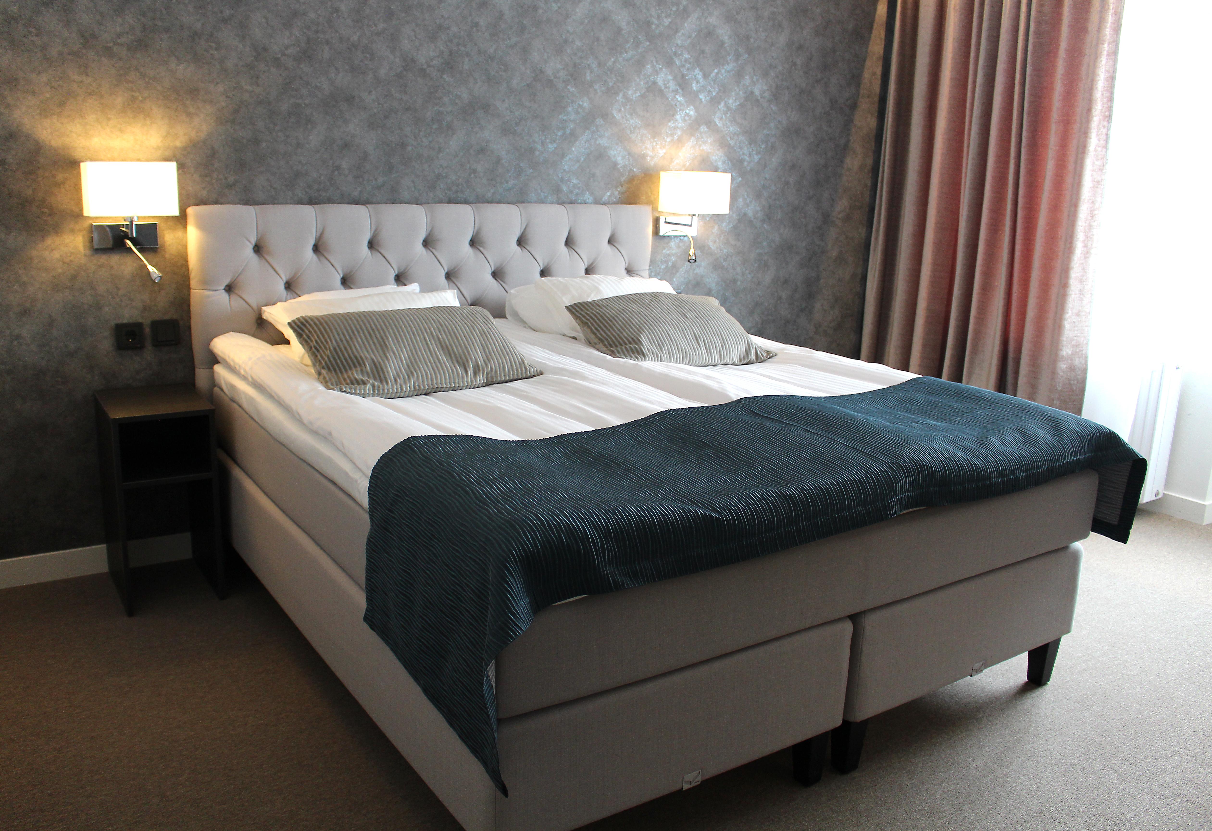Nyrenoverade rum på Hotell Rättvik